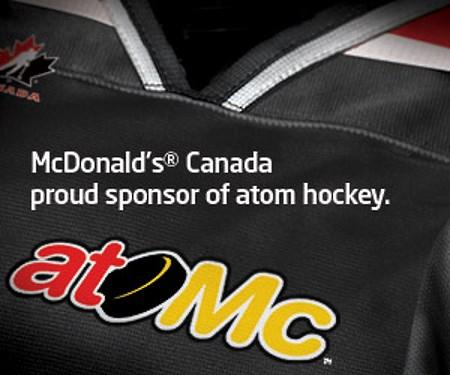 McDonalds Atomc Hockey Sponsorship