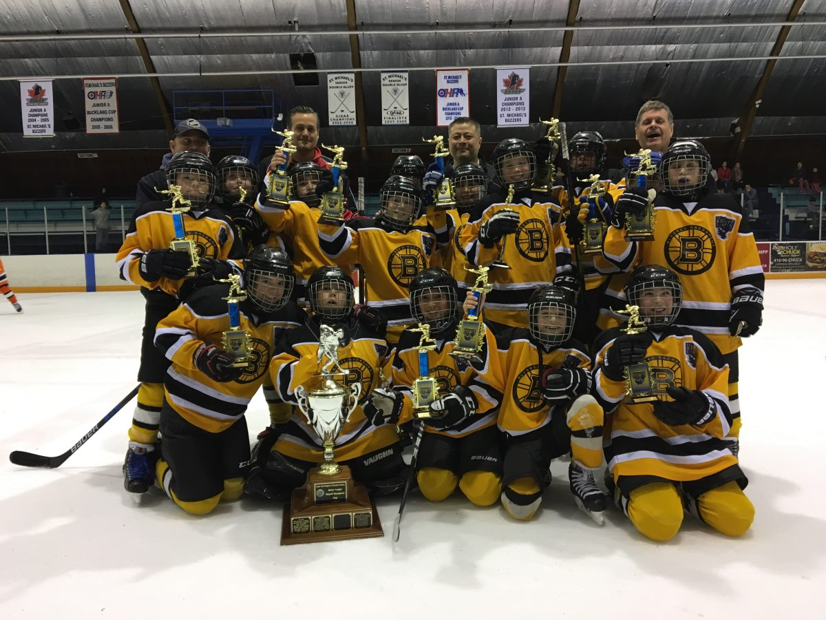Knights 2017 PeeWee Champions - Blessed Sacrament Bruins
